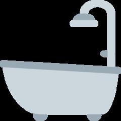 Bathtub twitter emoji