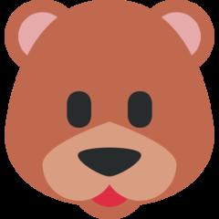 Bear Face twitter emoji