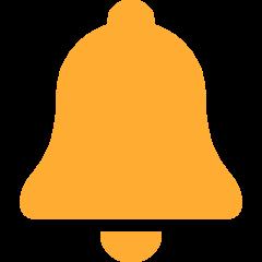 Bell twitter emoji