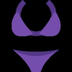 Bikini twitter emoji