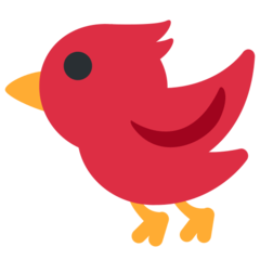 Bird twitter emoji