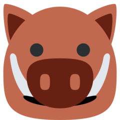 Boar twitter emoji