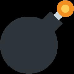 Bomb twitter emoji