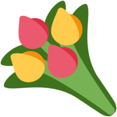Bouquet twitter emoji