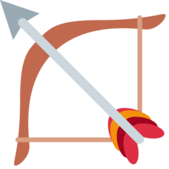 Bow And Arrow twitter emoji