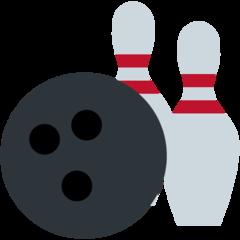 Bowling twitter emoji
