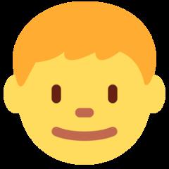 Boy twitter emoji