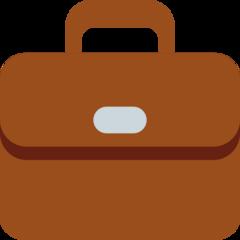 Briefcase twitter emoji