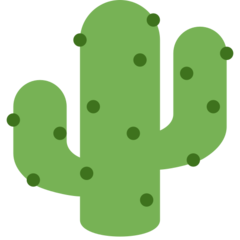 Cactus twitter emoji