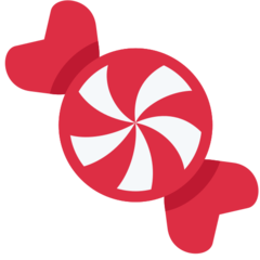 Candy twitter emoji