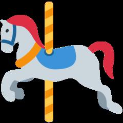 Carousel Horse twitter emoji