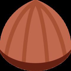 Chestnut twitter emoji