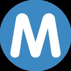 Circled Latin Capital Letter M twitter emoji
