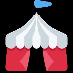 Circus Tent twitter emoji