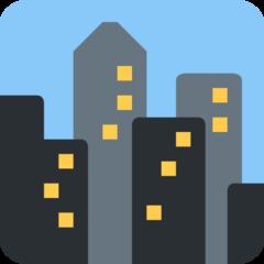Cityscape twitter emoji