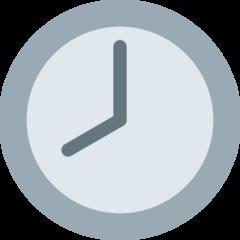 Clock Face Eight Oclock twitter emoji