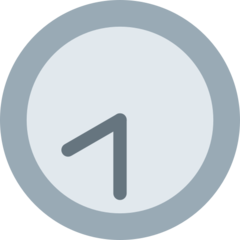 Clock Face Eight-thirty twitter emoji