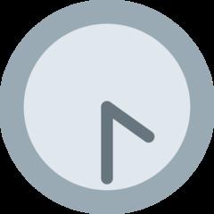 Clock Face Four-thirty twitter emoji