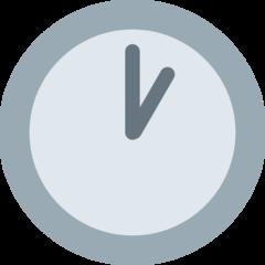 Clock Face One Oclock twitter emoji