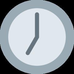 Clock Face Seven Oclock twitter emoji