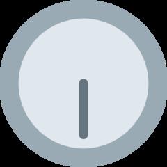 Clock Face Six-thirty twitter emoji