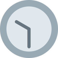 Clock Face Ten-thirty twitter emoji