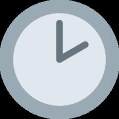 Clock Face Two Oclock twitter emoji