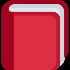 Closed Book twitter emoji