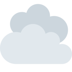 Cloud twitter emoji