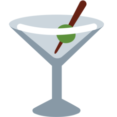 Cocktail Glass twitter emoji