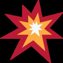 Collision Symbol twitter emoji