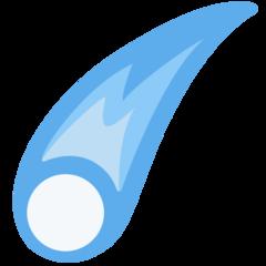 Comet twitter emoji