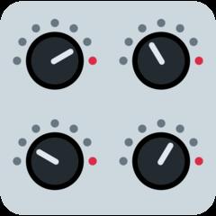 Control Knobs twitter emoji