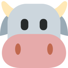Cow Face twitter emoji