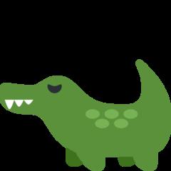 Crocodile twitter emoji