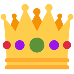 Crown twitter emoji