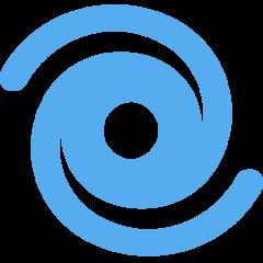 Cyclone twitter emoji