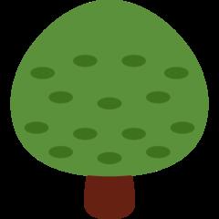 Deciduous Tree twitter emoji