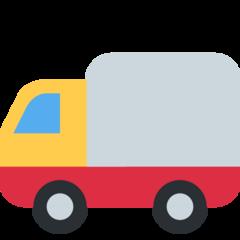 Delivery Truck twitter emoji