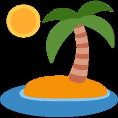 Desert Island twitter emoji