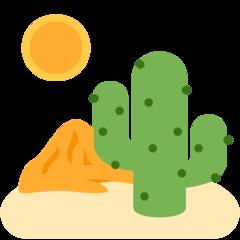 Desert twitter emoji