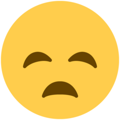 Disappointed Face twitter emoji