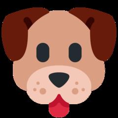 Dog Face twitter emoji