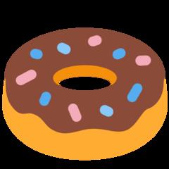 Doughnut twitter emoji