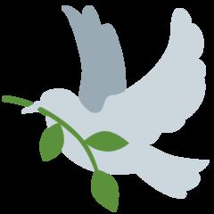 Dove Of Peace twitter emoji
