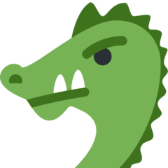 Dragon Face twitter emoji