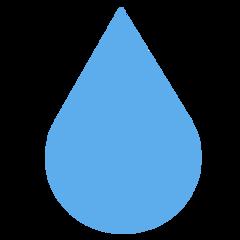 Droplet twitter emoji