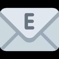 E-mail Symbol twitter emoji