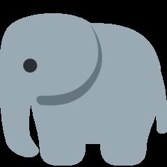 Elephant twitter emoji