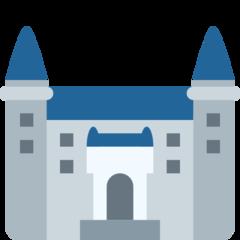 European Castle twitter emoji